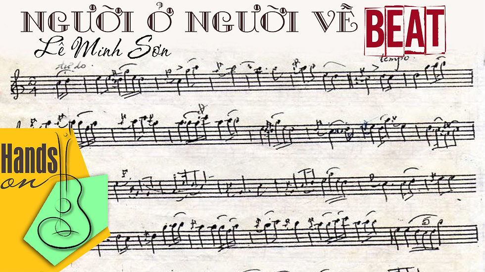 Người ở người về » Lê Minh Sơn ✎ acoustic Beat by Trịnh Gia Hưng