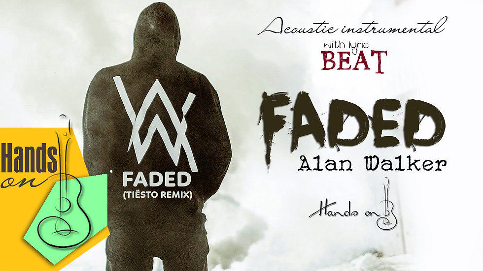 Faded » Alan Walker ✎ acoustic instrumental cover by Trịnh Gia Hưng