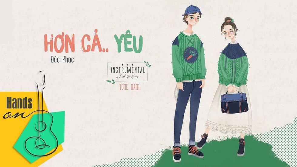 Hơn cả yêu » Đức Phúc ✎ acoustic Beat tone nam by Trịnh Gia Hưng