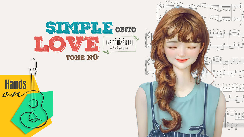 Simple love  » Obito ✎ Beat Instrumental tone nữ by Trịnh Gia Hưng | EDM Remix