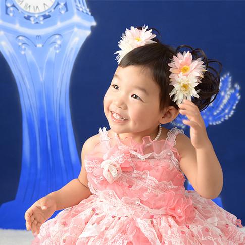 写真展 ピンクドレス