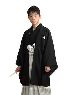 男子 紋付黒
