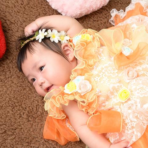 夏の写真展 ベビー ドレス