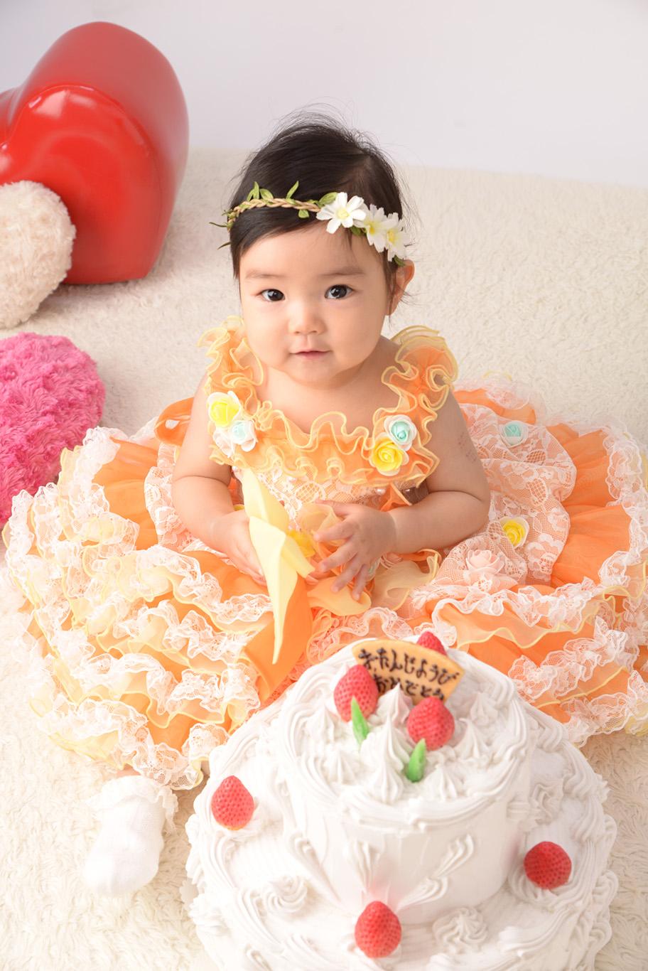 誕生日 1歳ドレス