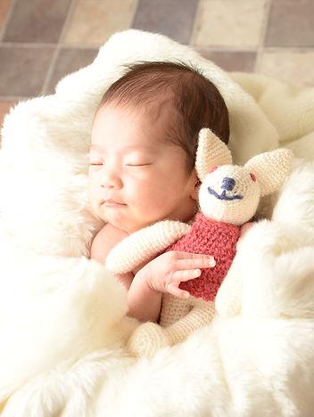 眠りのベビー