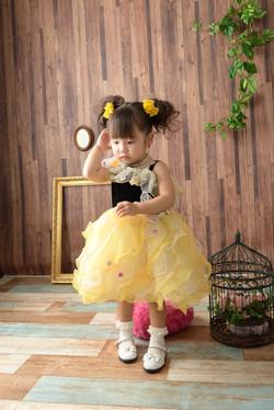 七五三 3歳ドレス
