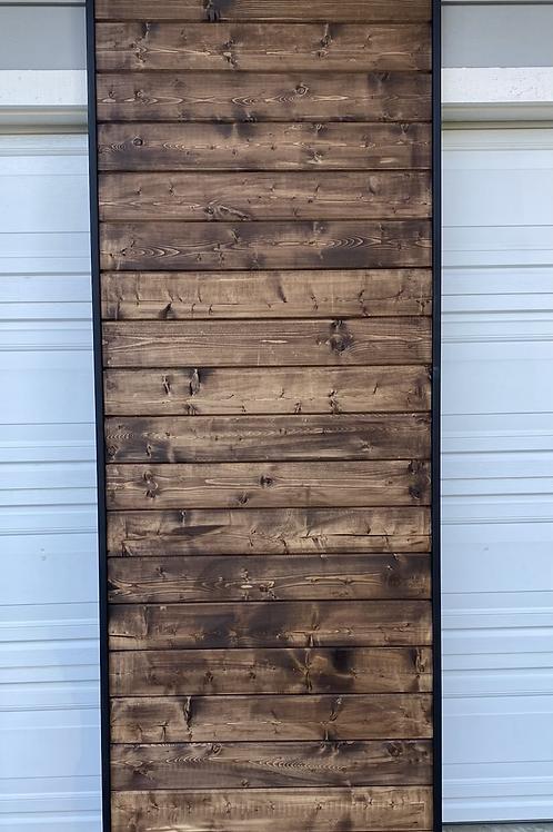Modern Metal Framed Sliding Barn Door