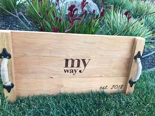 Company Logo Tray
