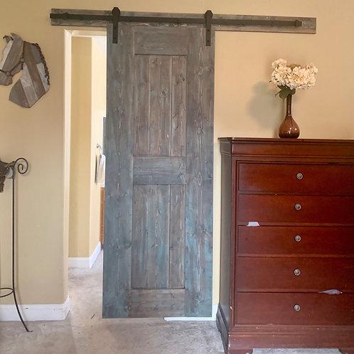 Master Bedroom and Bathroom Barn Door