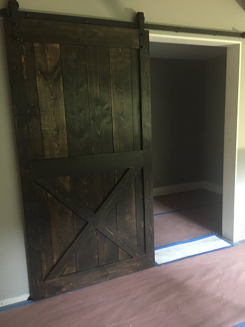 """Custom Size """"Framed"""" Barn Door"""