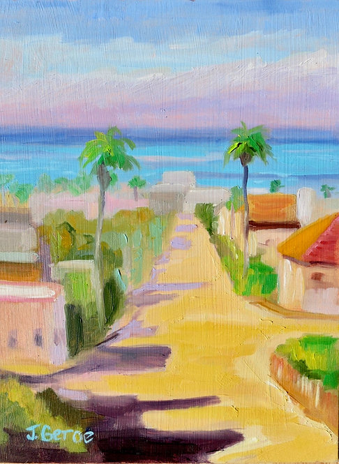 Plein Air Painting, Oceanside, California