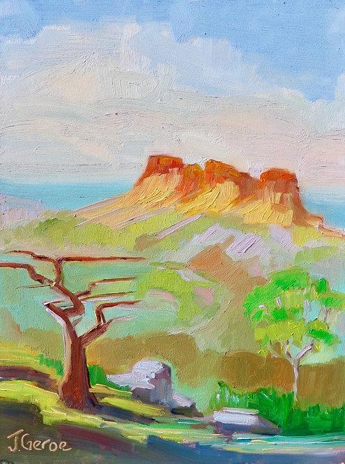 Plein Air Painting, Torrey Pines, Del Mar, California