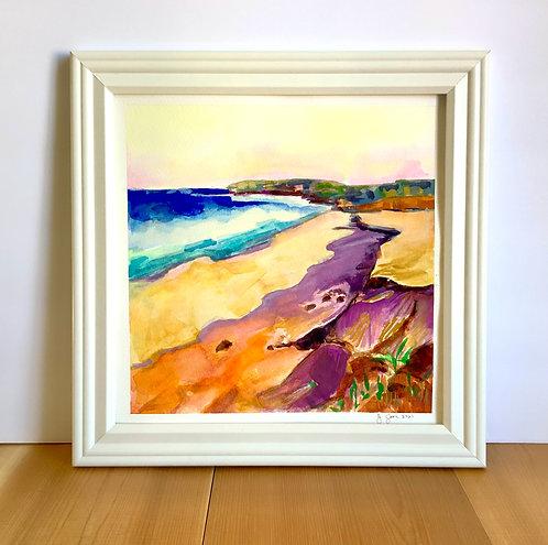 Coastal Watercolor