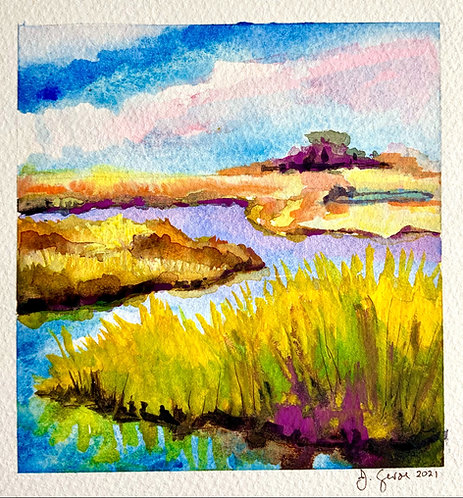 Afternoon in the Marsh