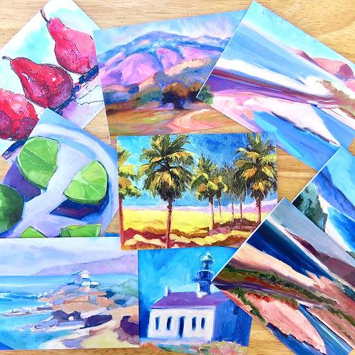 Set of Ten Greeting Cards