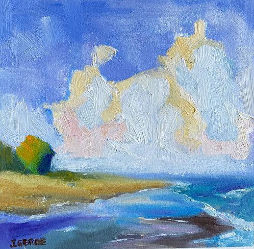 Southern California Coastal Landscape