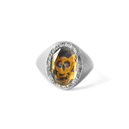WISE OWL TALISMAN SIGNET RING