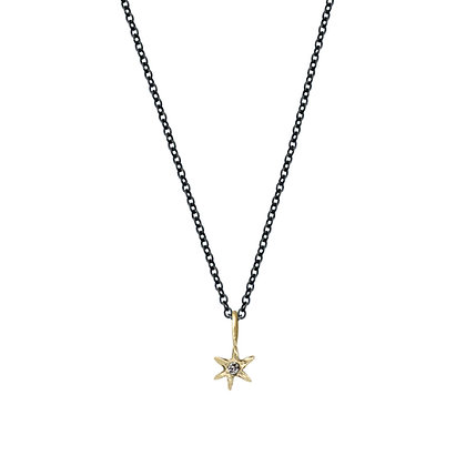 AMULET NORTH STAR CHARM NECKLACE