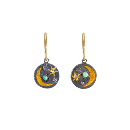 SPACE SCAPE EARRINGS