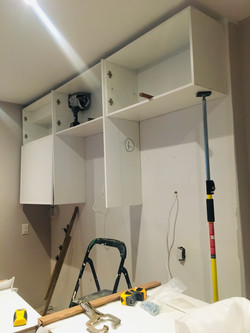 Scarborough Small Kitchen Renovation- millwork by LUCVAA