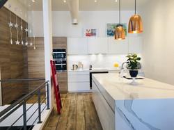 Cabbagetown LOFT Renovation- Kitchen by Leicht Toronto-LYONS CONSTRUCTI