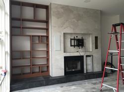 Cabbagetown LOFT Renovation- Living Room- LYONS CONSTRUCTION