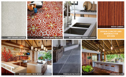 FIJI Cottage- Materials and Inspiration images for the Kitchen
