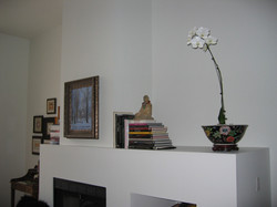 Cabbagetown LOFT Renovation- FIREPLACE and Living Room BEFORE- LYONS CONSTRUCTION