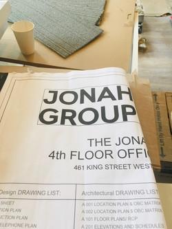 Jonah Group- New Office Loft Space- CAS INTERIORS