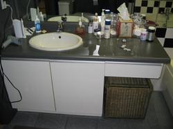 Cabbagetown LOFT Renovation- MASTER BATHROOM BEFORE- LYONS CONSTRUCTION