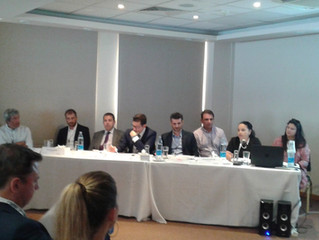 "Elemed discussion at Limassol Port ""electrification as the key to sustainable port & shipping op"