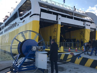 Inauguration ceremony of the first cold ironing installation in Eastern Mediterranean at the port of