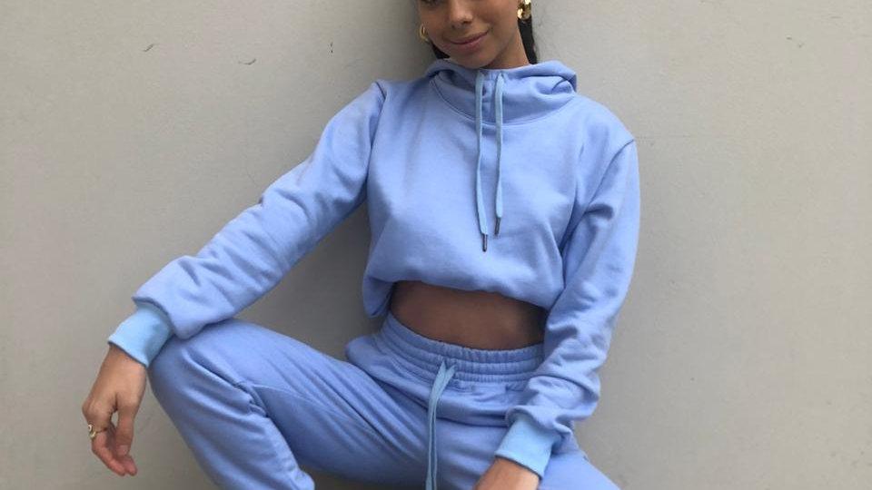 Set baby blue