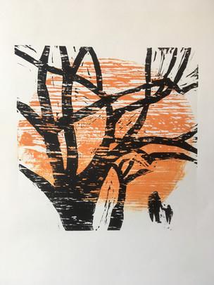 Trees at the Norton Simon