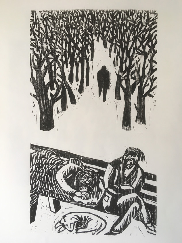 Homeless Couple