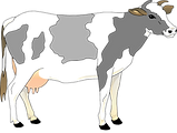 kisspng-holstein-friesian-cattle-calf-dairy-cattle-clip-ar-cow-christmas-cliparts-5a8a0f74