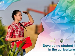 Developing Student interest in Agriculture