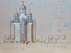 Храм на ул.Ветеранов в СПБ