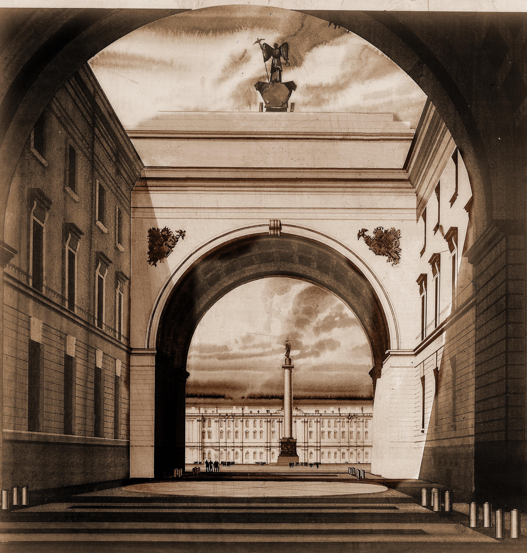 проект реконструкции Дворцовой пл.