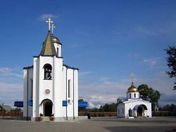 Храм в поселке Ленинское Выбр. р-на