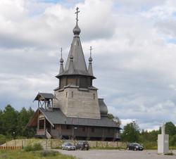 Храм староверов в Повенце. Карелия.