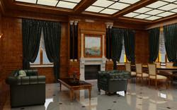 Интерьеры особняка С.Бодрунова