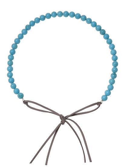 SORAYA Hairband/Necklace in MAGNESITE Turquoise