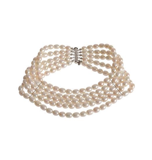 Perlen Collier ANNA