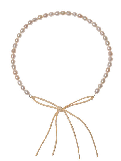 SORAYA Hairband/Necklace FRESHWATER PEARLS