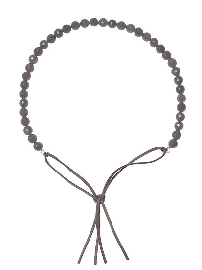 SORAYA Hairband/Necklace in AGATE