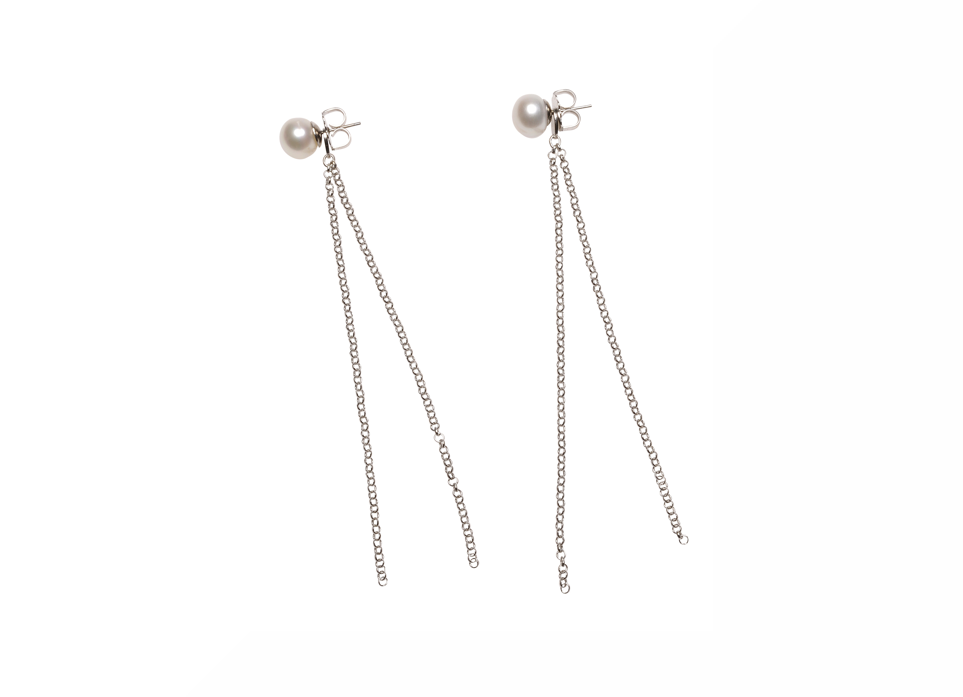 AMALIA PEARLS WITH SILVER CORNELIA HENZE