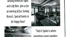 Black Rock's Hub and Spoke is serving up great food, beer and good times!
