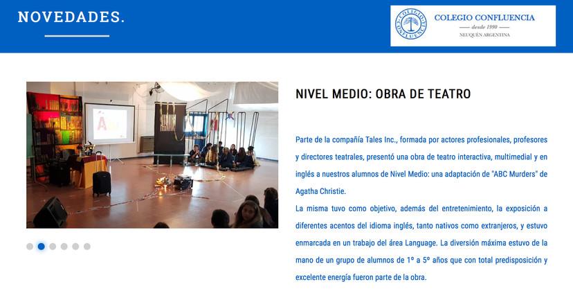 Colegio Influencia Neuquen