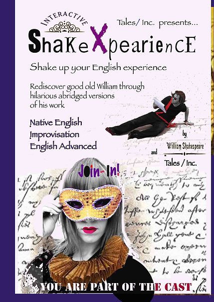 Poster Shakexpearience